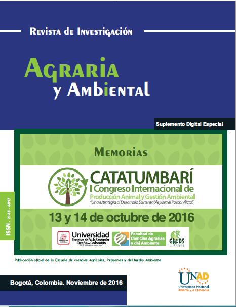 Agrícola, Pecuarias y del Medio Ambiente - Memorias